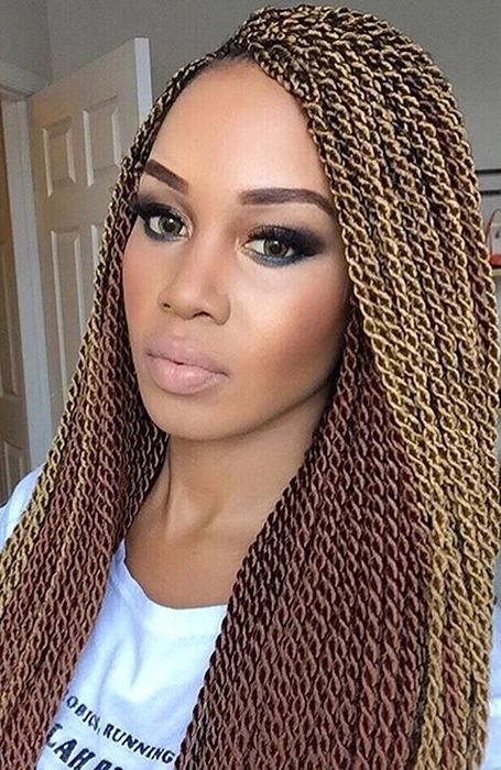 Blonde Senegalese Twists