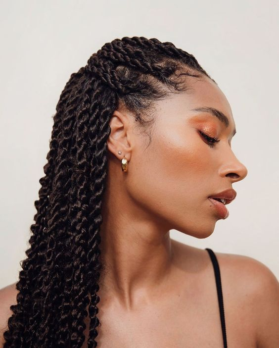 Medium Senegalese Twists