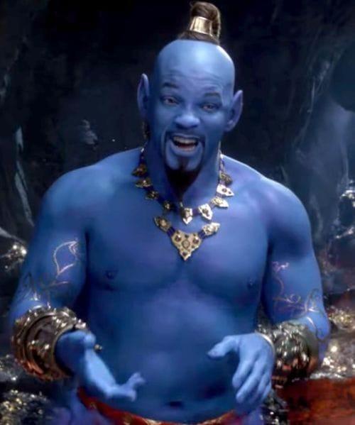 """Genie From the Movie """"Aladdin"""""""