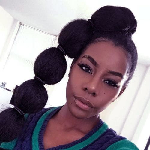 Bubble Braids for African American Women